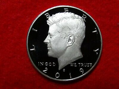 *Ship Today* 2019 S Kennedy Frosty Proof Deep Cameo Clad Half Dollar  Item #16R