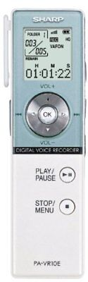 NEVER USED Sharp PA-VR10E Digital Voice Recorder Portable Dictation