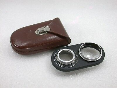 Zeiss Ikon Ikoprox f=0.5m Close-up Attachment + Case