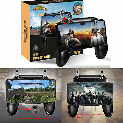 1x PUBG Mobile Wireless W11+ Gamepad Game Pad Remote Control For iPhone Android