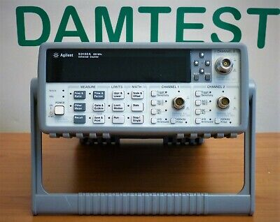 Agilent 53132A frequency counter 12.4 GHz high resolution counter frequenzimetro