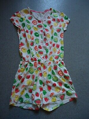 Next short sleeve stud front fastening all in one shorts sleep suit age:13 years