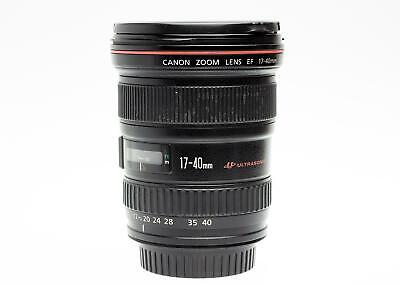 Canon EF 17-40mm f/4 L usm lens caps unboxed.  good+ condition