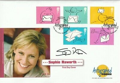 3 Feb 2004 Occasions Signed Sophie Raworth First Day Cover Shs