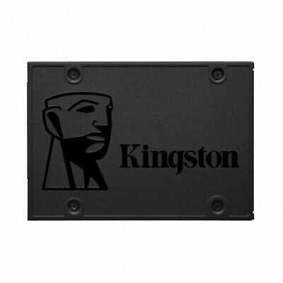"Disco Sólido Kingston A400 480Gb - Sata Iii - 2.5"" / 6.35Cm - Lectura 500Mb/S -"