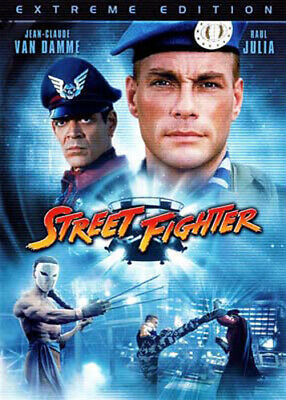 Street Fighter (1994 Jean Claude Van Damme) (Extreme Edition) DVD NEW