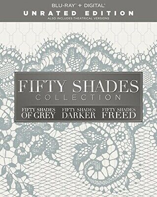 Fifty Shades Collection: of Grey / Darker / Freed (3 Disc, Unrated) BLU-RAY NEW