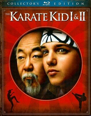 The Karate Kid Parts 1 / 2 (2 Disc, Collectors Edition) BLU-RAY NEW