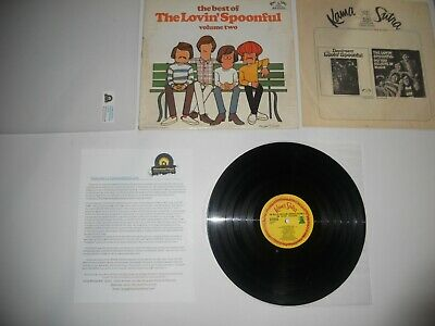 The Lovin' Spoonful Best of Vol 2 1968 VG++ 1st Analog Press ULTRASONIC Clean