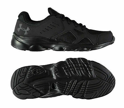 Under Armour Pace Running Shoes Junior Trainers Sport Boys UK 5 EU38 Black R45-7