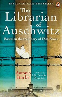 The Librarian of Auschwitz: The heart-break by Antonio Iturbe New Paperback Book