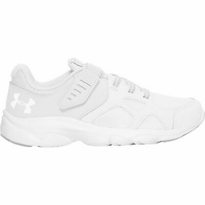 Under Armour Pace Running Shoes Junior Trainers Sport UK 5.5 EU 38.5 Whit R44-15