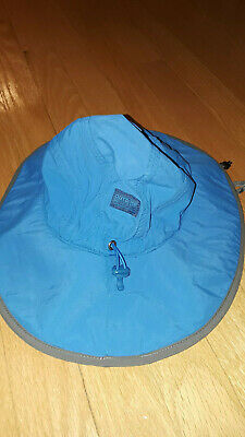ec6548f5c69 Outdoor Research Blue Waterproof Nylon Hydro Sun Hat size M 3-6 years old
