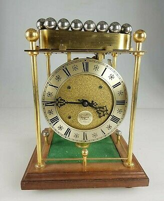 Rare Vintage Thwaites and Reed Mystery Spherical Rolling Ball Table Clock