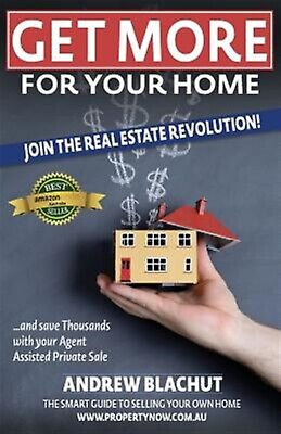 Get More for Your Home Join Real Estate Revolution! Save Tho by Blachut Andrew R