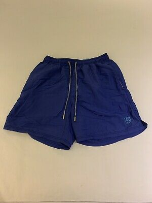7408eafb1a MASSIMO DUTTI Floral Mens Blue Swimming Trunks Shorts Size XL 36/38 ...