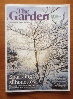 "RHS MAGAZINE ""The Garden"" JANUARY 2018 - Flowers Plants Horticulture - VGC"