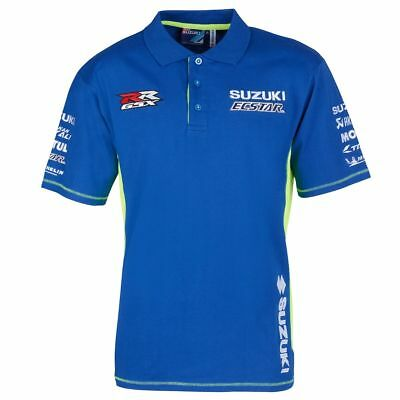 Suzuki Ecstar Motogp Team Polo Shirt | New | Official Merchandise