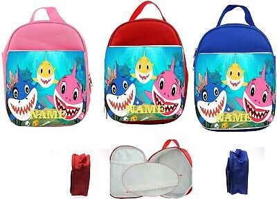 Baby Shark #1 Personalised Kids Insulated Lunch Bag