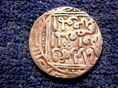 India:  Very Scarce Dehli Sultans Of Bengal Large Silver Tanka 1246-1266!!