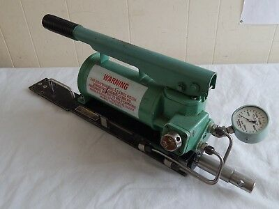 Ex Military Varo Inc High Pressure Hydraulic Hand Pump 0-10000 PSI [D6B]