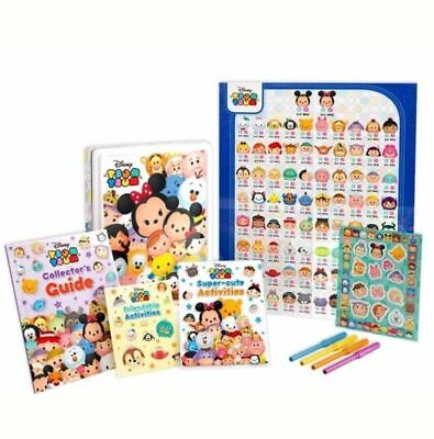 DISNEY TSUM TSUM Collectors Activity Tin COLLECTORS TIN, BOOKS, STICKERS, PENS