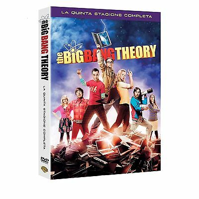 The Big Bang Theory - Serie TV - 5^ Stagione - Cofanetto 3 Dvd - Nuovo Sigillato