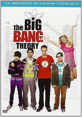 The Big Bang Theory - Serie TV - 2^ Stagione - Cofanetto 4 Dvd - Nuovo Sigillato