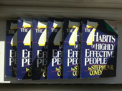 THE 7 HABITS OF HIGHLY EFFECTIVE PEOPLE - 6 CDs - STEPHEN COVEY