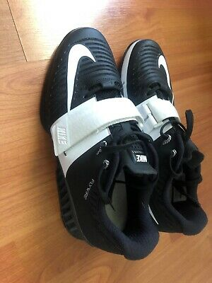 new concept 8b8c7 2db7e Nike Romaleos 3 Weightlifting Shoes Women Size 8.5 Black White