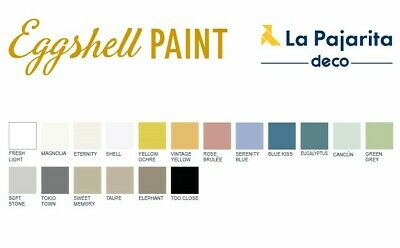 EGGSHELL PAINT LA PAJARITA 500 ml