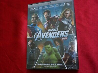 The Avengers (DVD, 2012) NEW!
