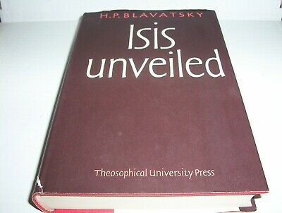 Isis Unveiled: A Master Key to Mysteries of Ancient & Modern Science *THEOSOPHY*