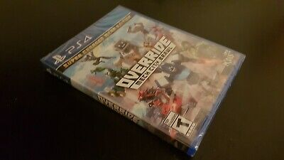 NEW PS4 OVERRIDE: Mech City Brawl Super Charged Mega Edition