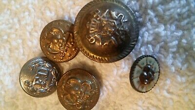 5 MILITARY BUTTONS - some Civil War - $35 00 | PicClick