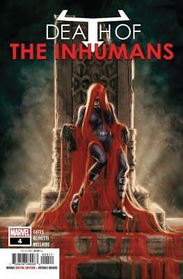 Death of the Inhumans #4 COVER A First Print Cates Marvel Comics 2018