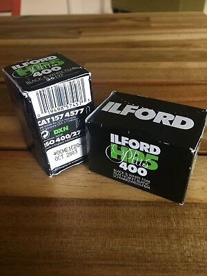 Ilford 1574577 HP5 Plus, Black and White Print Film, 35 mm, ISO 400, 36 Exposure