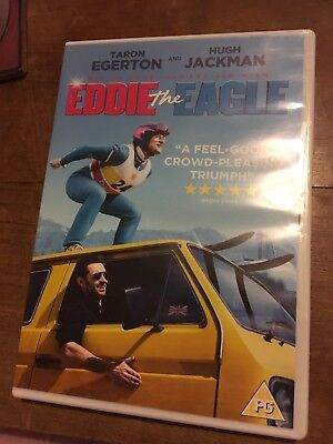 Eddie The Eagle*dvd*taron Egerton*hugh Jackman*comedy*drama Vgc