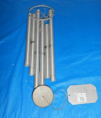 Vtg Nos Grace Note Wind Chimes Let The Good Chimes Toll Aluminum W