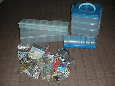 Plastic Beads Storage Containers