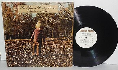 ALLMAN BROTHERS BAND Brothers and Sisters LP 1973 Capricorn Southern Rock Vinyl