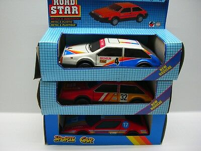 MSB Road Star Collection DDR Airport Service Car Metall und Kunststoff mit OVP DDR