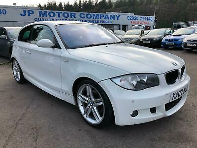 BMW 120 2.0TD 2007MY d M Sport 320d WHITE ONE OWNER FROM NEW TOP SPEC