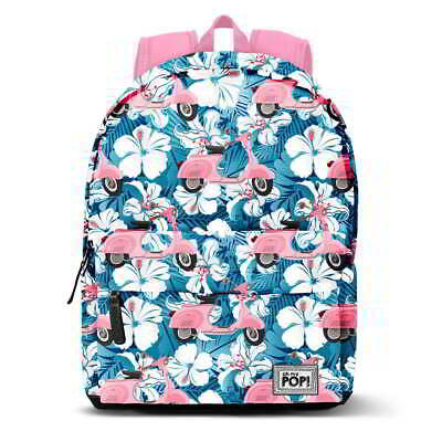 Mochila Casual OH MY POP! Pink Scooter, Grande 42 cm. Adaptable