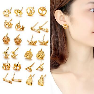 12Pair Women Fashion Magic Earring Backs Lifter Support Hypoallergenic Jewelry