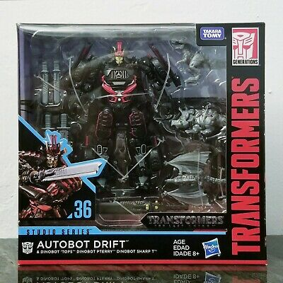 Transformers Studio Series The Last Knight Autobot Drift With Dinobots #36