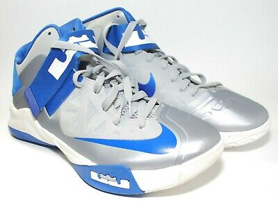 28a900823056 NIKE ZOOM LEBRON JAMES SOLDIER VI TB basketball shoes navy white grey SIZE  10.5