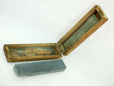 Natural Thuringian Water Hone Razor Knife Sharpening Stone Collectable