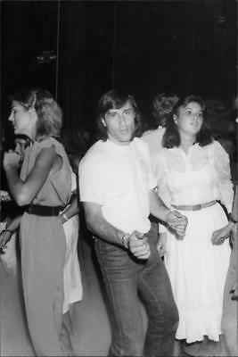 The tennis player Ilie Nastase at the nightclub Xenon in New York - Vintage phot