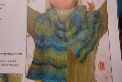Knit One Crochet Too Knitting Pattern Tilted Squares Stole 2 50